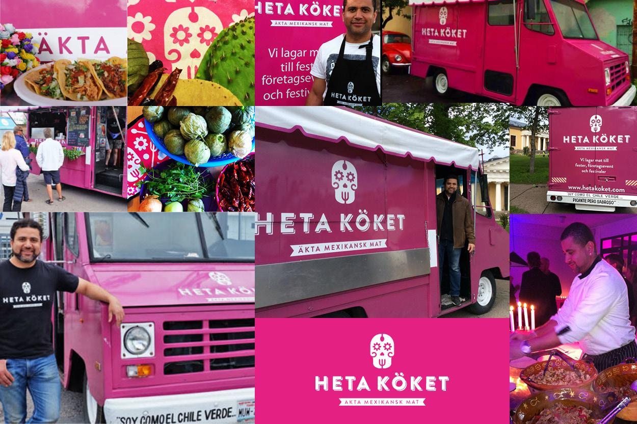 Heta köket food truck i Uppsala