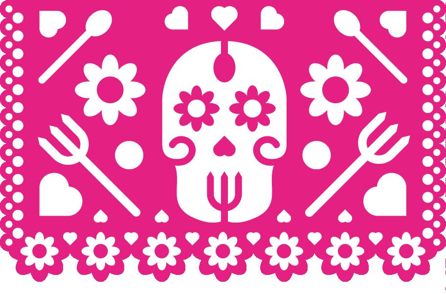 Heta Köket rosa logotyp