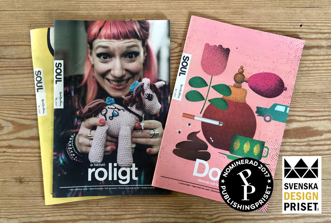 UNT Soul är nominerad till Svenska designpriset