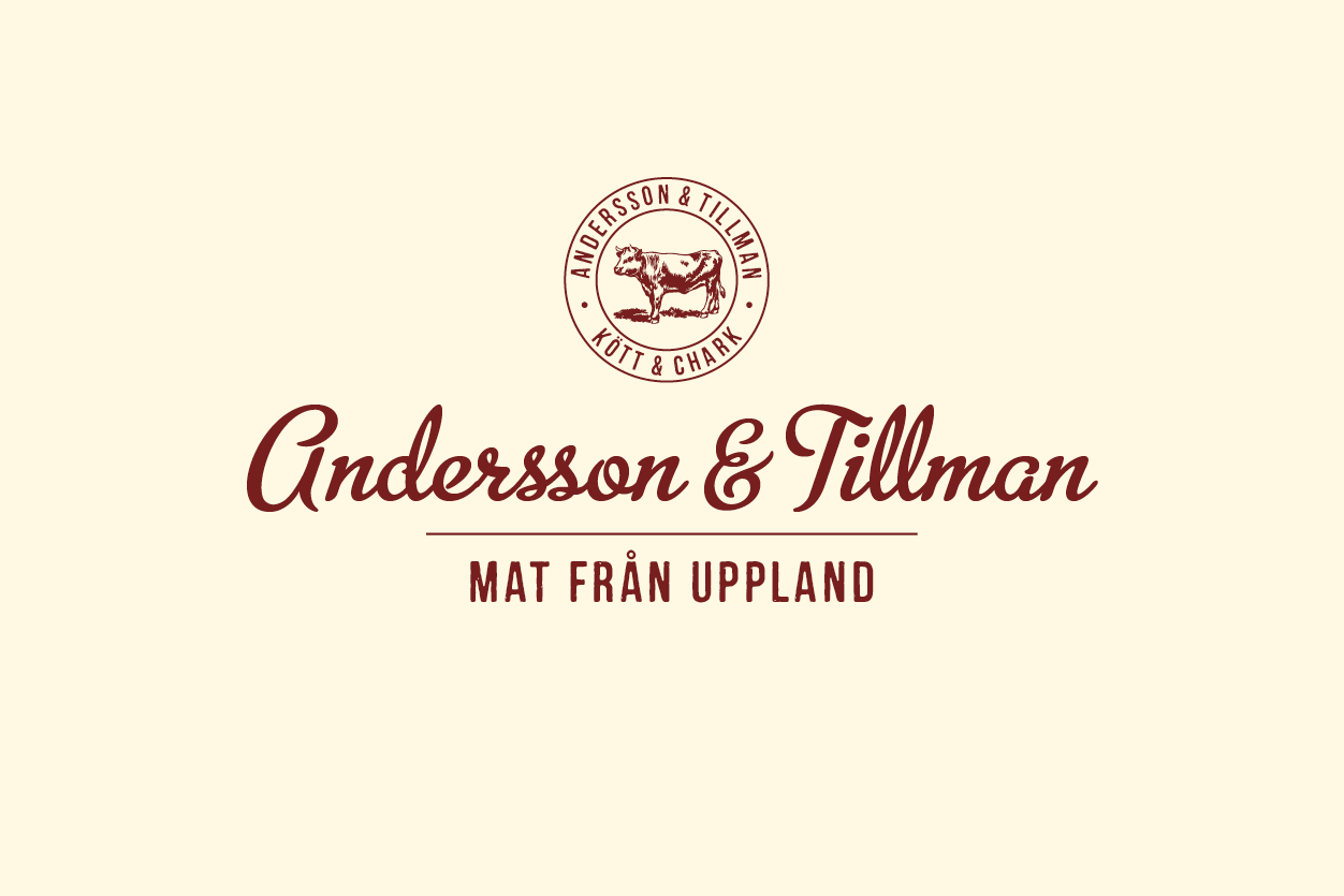 Andersson och Tillman – Mat från Uppland logotyp