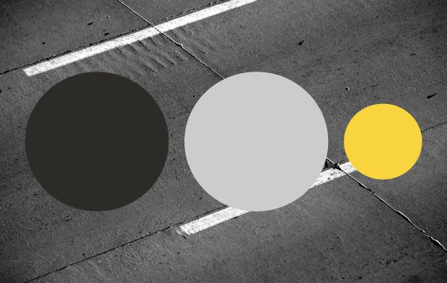 Uppsala taxis nya färger: Svart, ljusgrå och gul.