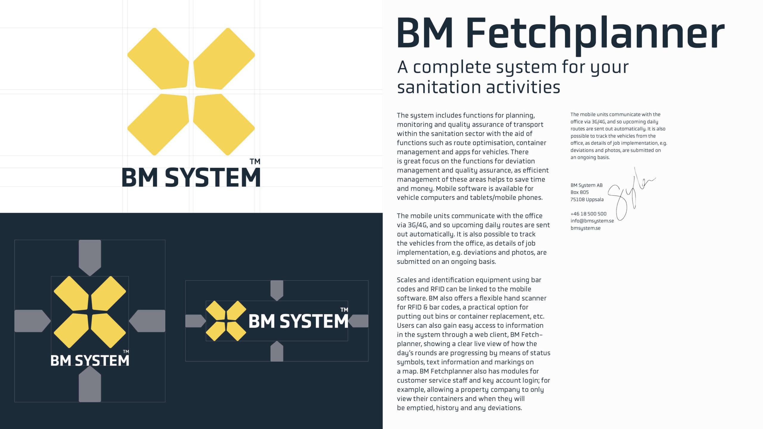 BM System case