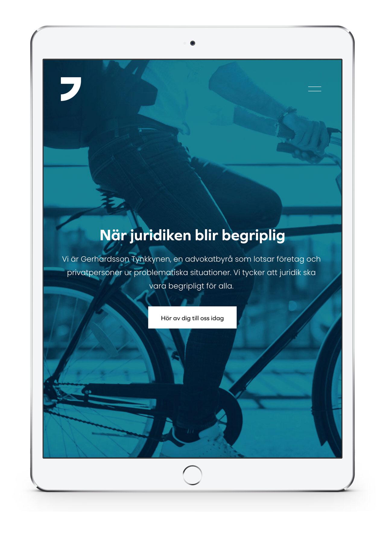 Gerhardsson och Tynkkynen webbplats