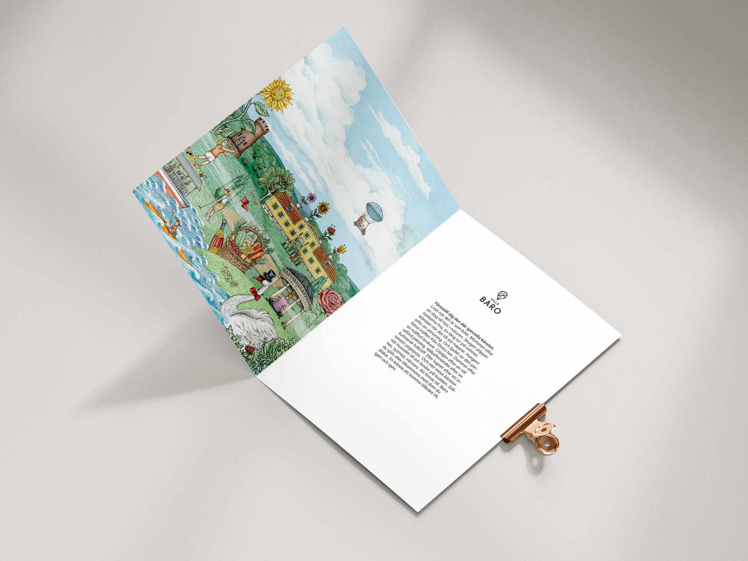 Villa Baro broschyr