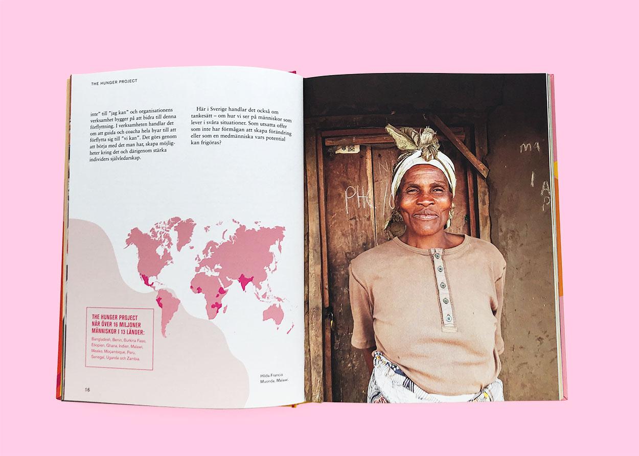 Möjligheternas kokbok, Hungerprojektet